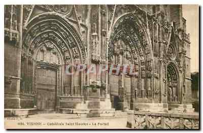 CPA Vienne Cathedrale Saint Maurice Le Portail