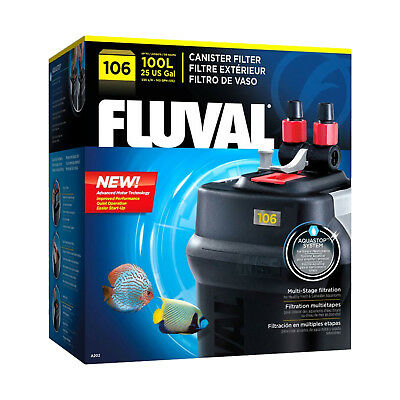 Fluval 106 Canister External Filter for Aquariums