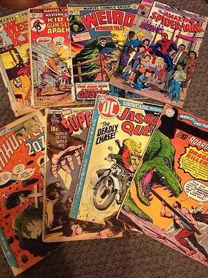8 Comic Books DC and Marvel Mixed Lot