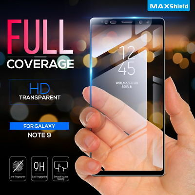 Samsung Galaxy Note 8 MaxShield 3D Tempered Glass FullCoverage Screen Protector