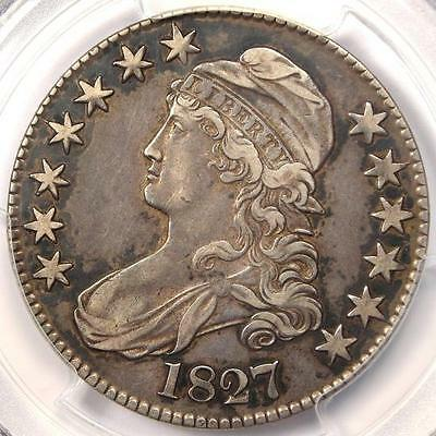 1827 Capped Bust Half Dollar 50C O-131 - PCGS XF40 (EF40) - Rare Certified Coin