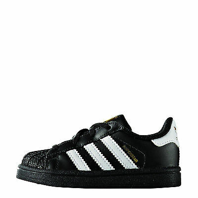 more photos 65994 30417 ADIDAS SUPERSTAR BB9078 FOUNDATION CF I SCHWARZ WEIß GOLD LEDER Gr.21-Gr.