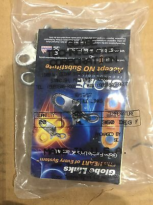 GLOBE -FUSIBLE LINKS ML 360 Degrees 1 Pack Of 20  Mfg 2017 Kitchen Suppression