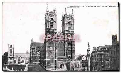 CPA Londres La Cathedrale Westminster London
