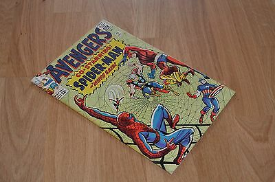 AVENGERS #11 VF+/NM- 9.0 or thereabouts - 1st Spiderman/Avengers crossover! 1964