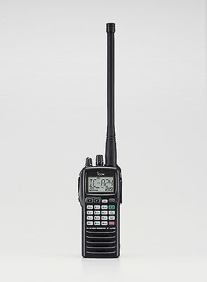 Icom IC-A24E EU Hand-held Radio navigation functions IPX4 power 5W Made in Japan