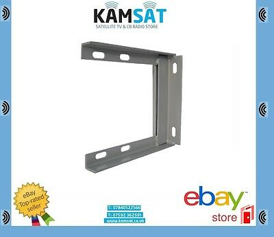 "9"" x 9"" TV Satelitt Aerial Wall Mounting Bracket Heavy Duty"