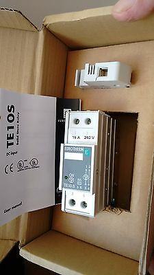 Eurotherm Solid state relay TE 10s 16A/240v/LGC/ENG/-/-/Fuse/-//00