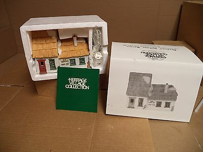 """Dept 56 Dickens Village """"The Cottage of Bob Cratchit and Tiny Tim"""" w/box #6500-5"""