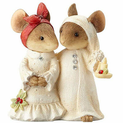 Mice Couple With Candle Heart of Christmas Karen Hahn 4057651