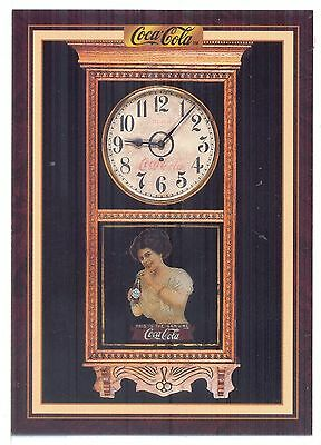 Year 1910: Photo of Gilbert Coca-Cola Clock, 1994 Coca-Cola Series 3 Card #213