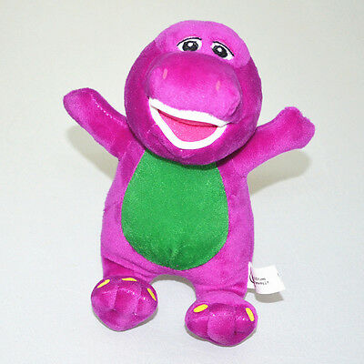 "Cute 7"" Barney Sing I LOVE YOU Song Soft Plush Doll Kids Baby Boy Girl Toy Gift"