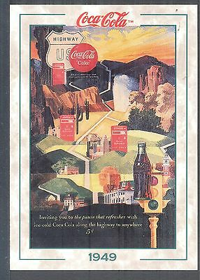 Year 1949: Along the highway to anywhere, 1994 Coca-Cola Series 2 Card #106