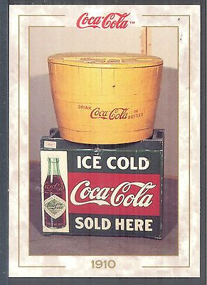 Year 1910: Early Ice & Water Tub Cooler, 1993 Coca-Cola Series 1 Card #15