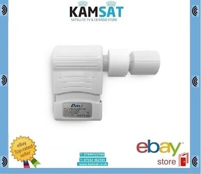 UNIVERSAL SLIM TWIN LNB FULL HD 4K 3D 0.1dB 40MM SKY ASTRA HOTBIRD