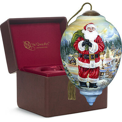 Limited Edition Santa Claus Is Coming To Town Ornament NeQwa 7171117