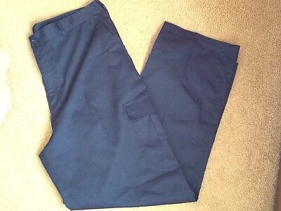 NWOT Industrial navy blue work trousers size 40R