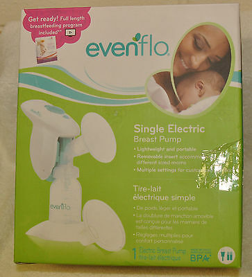 Evenflo Single Electric Breast Pump portable baby feeding NEW!