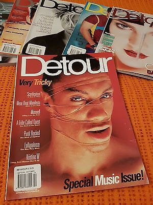 Detour Magazine Special Music Issue October 1996 Excellent Tricky Scarce !!!