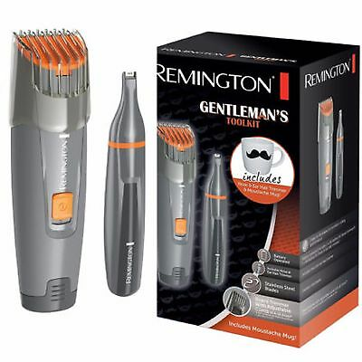 Remington Mens Gentlemans Beard Trimmer Shaver & Nose Trimmer Tool Kit  MB4011