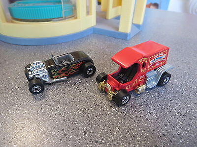 Hot Wheels T Todiller And 32 Ford Black Walls