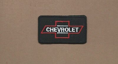 New 1 5/8 X 2 3/4 Inch Chevrolet Iron On Patch Free Shipping