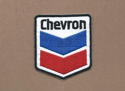 New 2 3/8 X 2 3/4 Inch Chevron Shield Iron On Patch Free Shipping