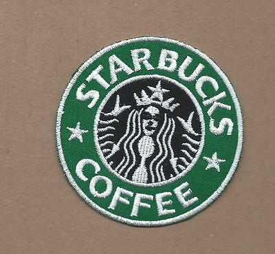 New 3 Inch Starbucks Coffee Iron On Patch Free Shipping
