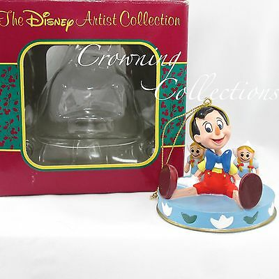Disney Parks Pinocchio It's a Small World Ride Ornament The Artist Collection