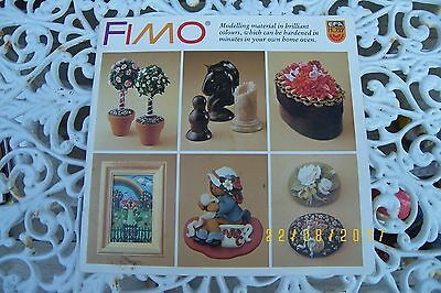 fimo craft book modelling instructions