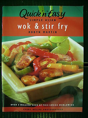 Quick 'n' Easy Wok & Stir Fry~Recipes~Cookbook~Robyn Martin~P/B