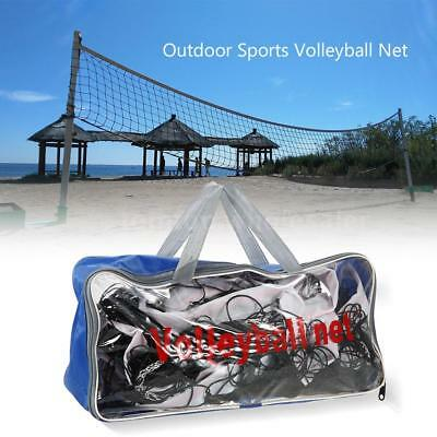 Outdoor Sports 30 FT * 3 FT Volleyball Net Backyard Beach With Carry Bag I3K7