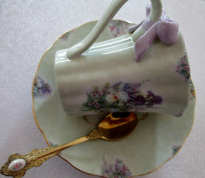 Collectable Hand Painted China Cup/saucer/teaspoon