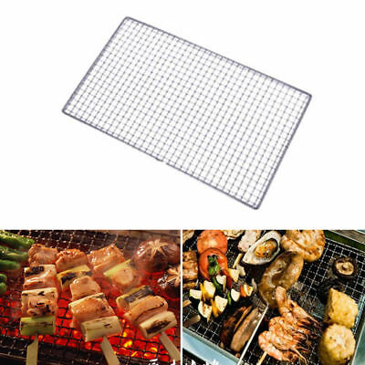 BBQ Barbecue Grill Replacement Mesh Wire Stainless Steel Net Outdoor Cook Picnic
