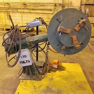 1,000 lb Pandjiris Welding Positioner w/3-Jaw chuck & Dresser 60:1 Ratio VFD