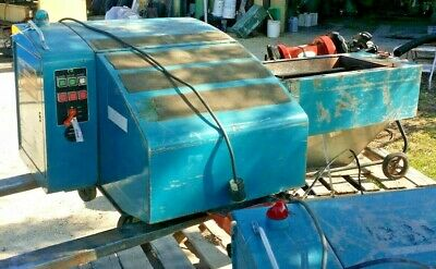 Polymer Systems Auger Granulator Mdl#: 1010 Wa 7.5Hp