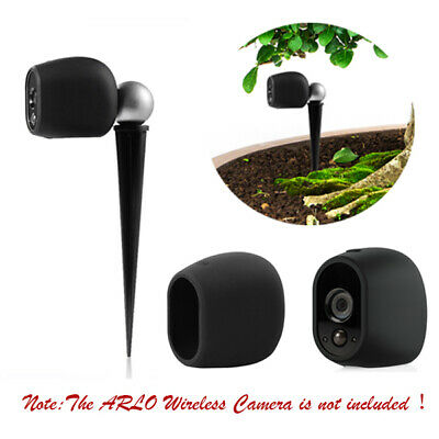 Holaca Silicone Skin Protective Case&Outdoor Mount Bracket For Arlo Wireless CAM