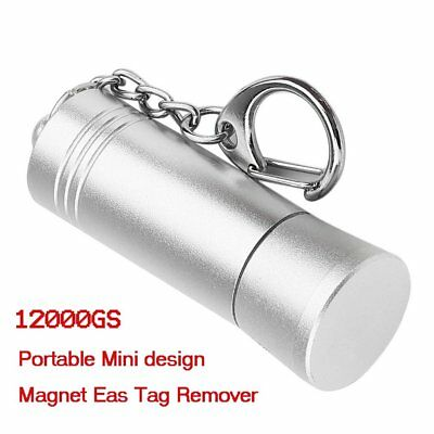 12000GS Mini Magnet Eas Tag Remover Magnetic Bullet Security Tag Detacher YF