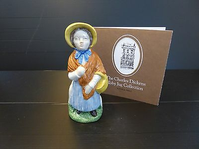 The Charles Dickens Little Nell Toby Jug by Wood & Sons England 1979