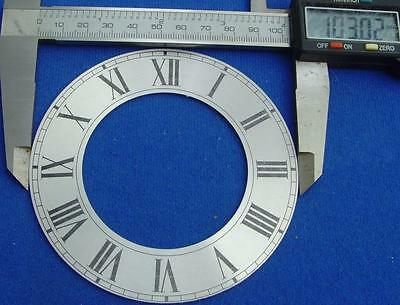 25/3 5059#d3 Replacement alluminium clock dial chapter ring 103mm outer diameter