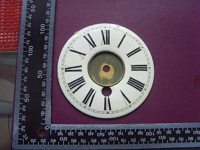 14/8-45   Enamel french clock chapter ring clock dial 104 od
