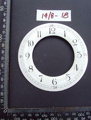 14/8-18   Enamel french clock chapter ring clock dial 103 od