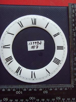 15999a#7   Enamel springer wall clock chapter ring clock dial 135 od