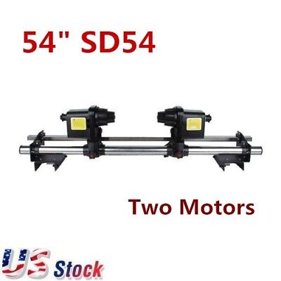 """US - 54"""" Automatic Media Take Up Reel SD54 Two Motors for Roland/ Epson 110V"""