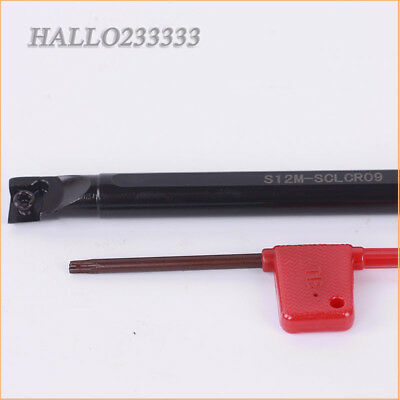 S12M-SCLCR09 Lathe Boring Bar Turning Tool Holder for CCMT09T304 Insert CNC