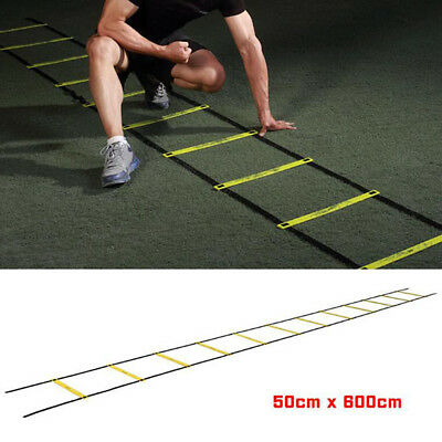 Football Agility Ladder Fitness Speed Footwork 1 Pcs Sport Training Soccer