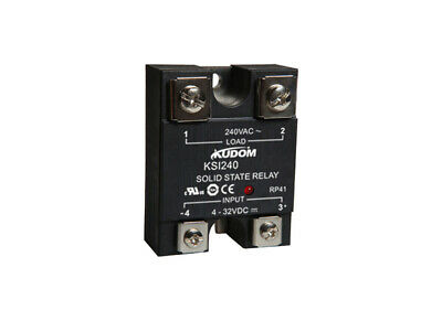 Kudom 25A 90-280Vac Zero X & Led Panel/surface Mount Solid State Relay