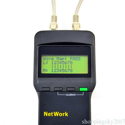Network LAN Length Phone Cable Tester Four Far-End Test Jack Cat5 RJ45 Exactly
