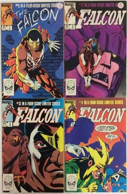 The Falcon complete series #1,2,3 & 4 (1983 Marvel)