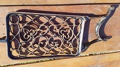 Antique Cast Iron Treadle Sewing Machine Foot Pedal Steampunk Salvage New Home?